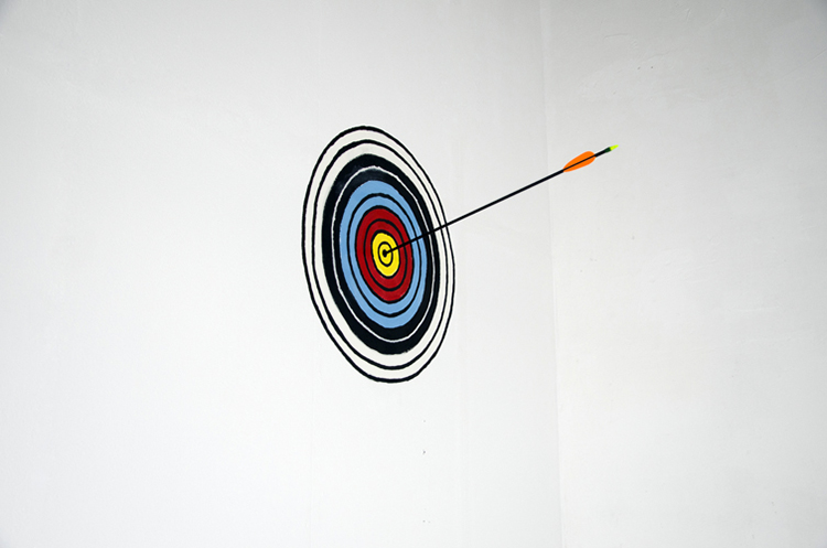 HITTING THE BULLSEYE EVERY TIME