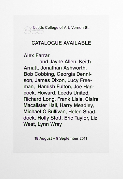 Catalogue Available