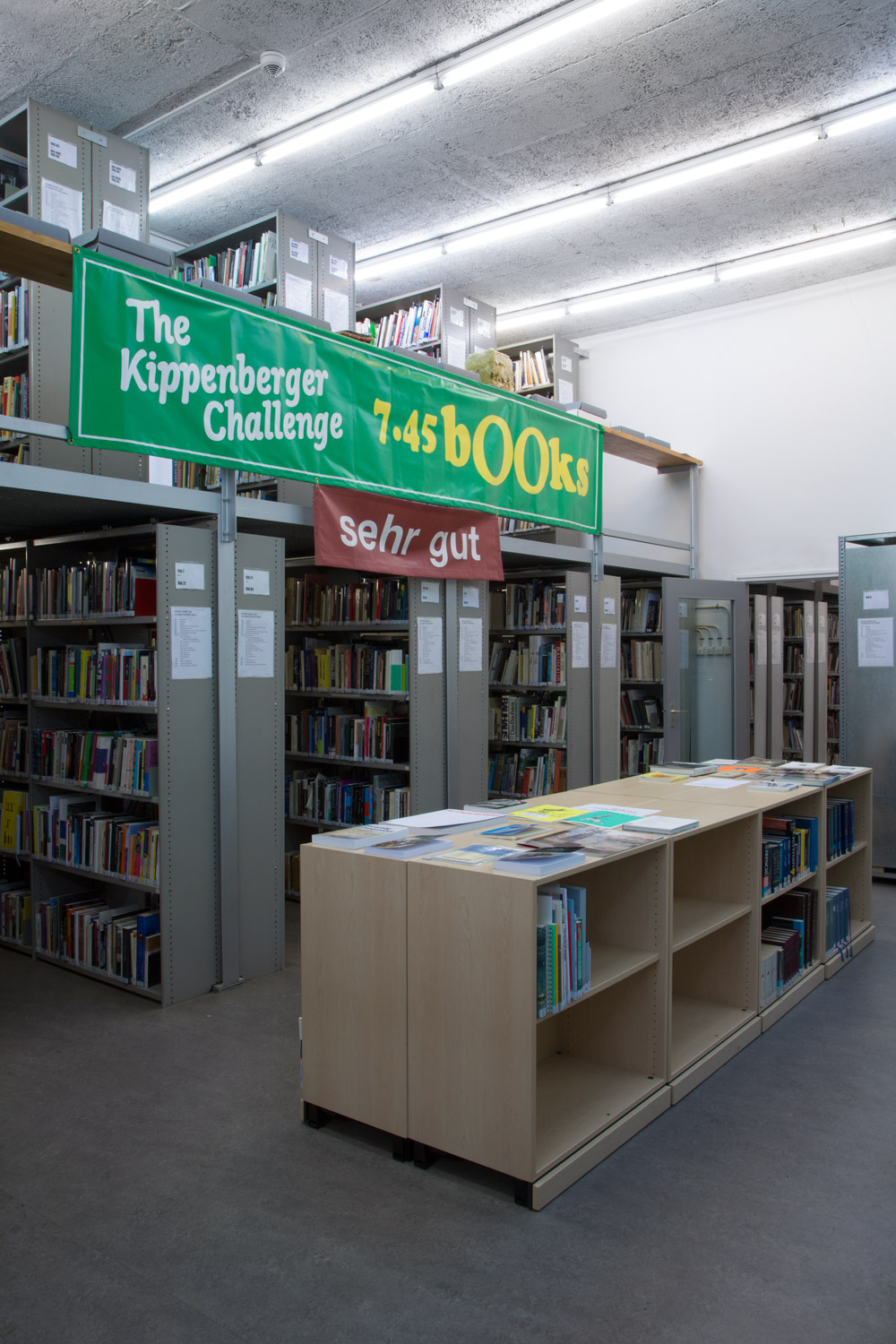 The Kippenberger Challenge (7.45 Books) Tour